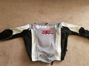 Suzuki 2xl motorcycle jacket for Sale in Saint Ann, MO