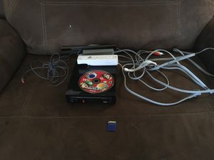Wii with remote and New Super MARIO Bros. for Sale in Immokalee, FL