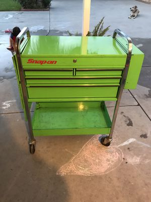 Snap-On/Bluepoint 5 Drawer service cart for Sale in Fontana, CA