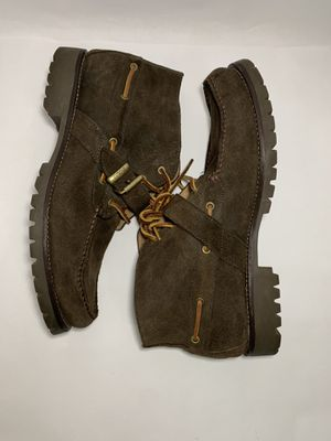 POLO RALPH LAUREN Rumford Monk Boat Buckle Chukka Ankle Boot MENS 13D Shoes. Pre owned , good condition No original box 100% authentic Fast shipp for Sale in Dundalk, MD