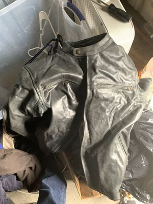 Street and steel motorcycle jacket for Sale in Bonney Lake, WA