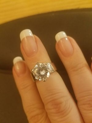 Sterling Silver 3 CT Engagement Ring for Sale in Knoxville, TN