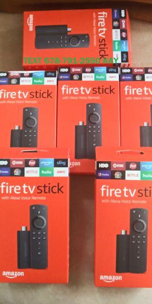 New Generation Unlocked Fire TV Stick w/ Voice+Volume Remote for Sale in Atlanta, GA
