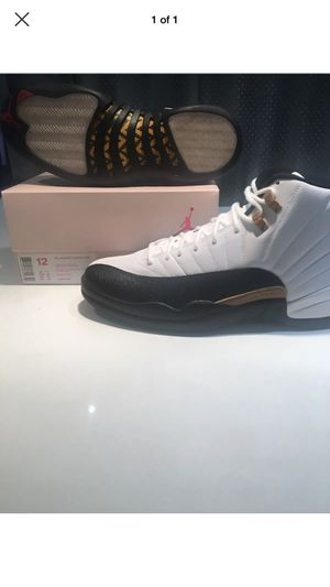 2017 Nike Air Jordan 12 XII Retro CNY Size 12, Taxi, 3M, Air Max, 100% Authentic for Sale in Chicago, IL
