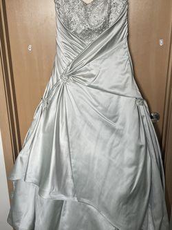 Silver Wedding Dress for Sale in Seattle,  WA