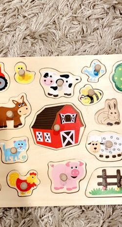 Interactive Educational Wooden Puzzle for Sale in Vancouver,  WA