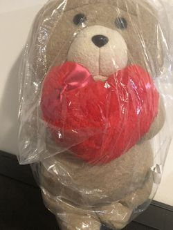 Brand New Ted 2 Plush Teddy Bear with Heart for Sale in San Leandro,  CA