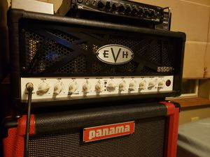 Evh 5150 III 50 watt with upgraded mesa/tung sol power tubes and footswitch guitar amp for Sale in Stockbridge, GA