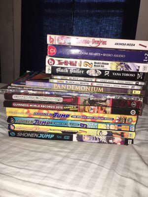 manga, shonen jump/Guinness world records/etc comic book lot collection for Sale in Calvert City, KY