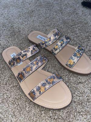Steve Madden Cheetah Print Sandal for Sale in Vandenberg Air Force Base, CA