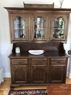 Antique china cabinet for Sale in Riverwoods, IL