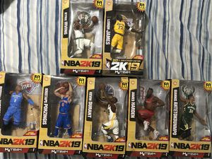 Collectibles NBA action figures for Sale in Parkland, FL