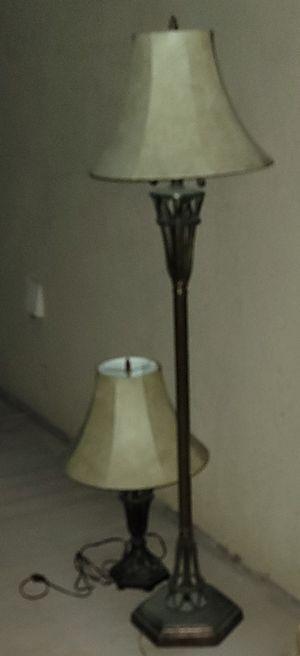 2 metal lamps for Sale in Corona, CA