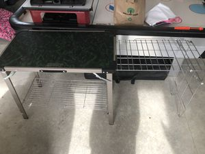Folding camping table for Sale in Lynden, WA