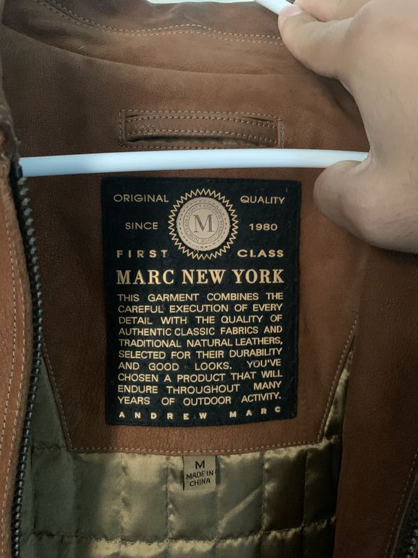 Marc New York first class premium leather jacket