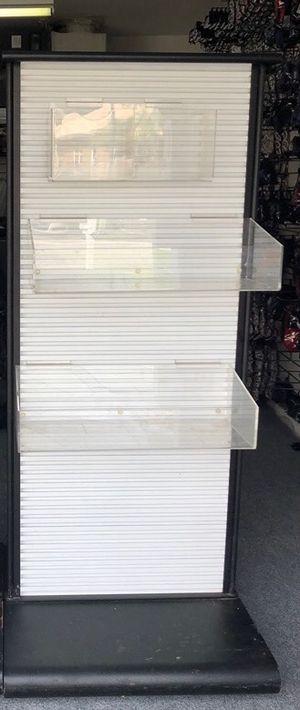 Metal Slatwall Portsble Display Shelf for Sale in Delray Beach, FL
