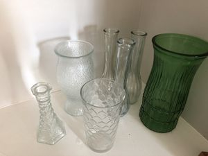 7 vases- visit hospital, shut-ins or nursing home with flowers for Sale in Columbus, OH