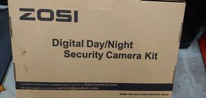 $10 (2) NEW Zosi Digital Day/Night Security Cameras KIT... for Sale in Tampa, FL