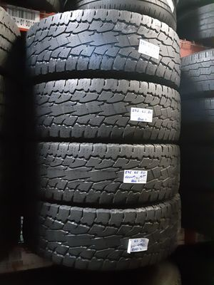 4 USED TIRES LT275/65R20 TOYO OPEN COUNTRY A/T 275 65 20 for Sale in Fort Lauderdale, FL