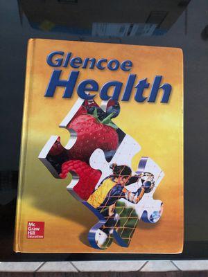 Glencoe Health Book for Sale in Santa Fe Springs, CA