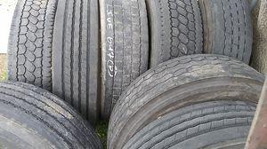 Semi truck Tires - 2 for Sale in Stockton, CA