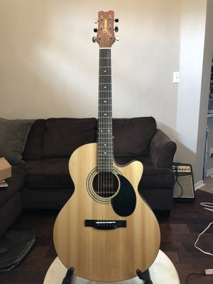 Mint Jasmine by Takamine S34C Acoustic Guitar for Sale in Richardson, TX