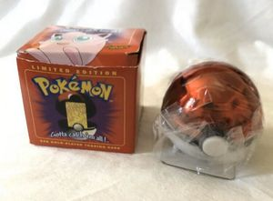 1999 Limited Edition JIGGLYPUFF Pokemon Pokeball 23K Gold Plated Trading Card for Sale in Bellflower, CA