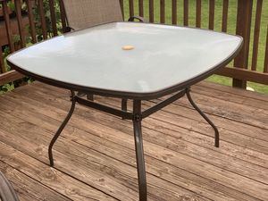 Outdoor table, dining table, outdoor furniture for Sale in Gaithersburg, MD