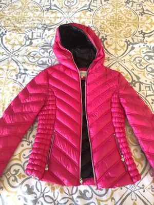 Laundry hot pink puff jacket for Sale in Ventura, CA