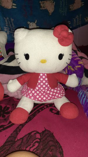 9inch hello kitty polka dot red and white dresss for Sale in Houston, TX