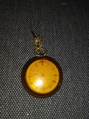 Vintage pocket watch in protective case for Sale in Seattle, WA