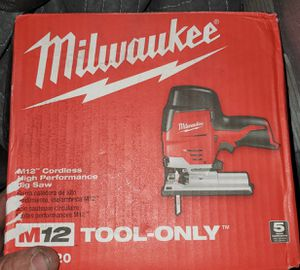 Milwaukee m12 cordless Jigsaw (tool only) for Sale in Calimesa, CA