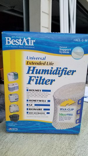 New Best air Humidifier filter $6 firm for Sale in Elgin, IL