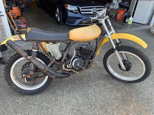1974 Suzuki TM400 Widowmaker/Cyclone Motorcycle for Sale in BETHEL, WA