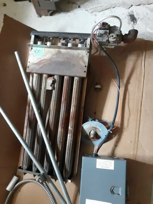 Burner and vent control system for water heater; gas valve included for 5 inch vent for Sale in Midlothian, IL
