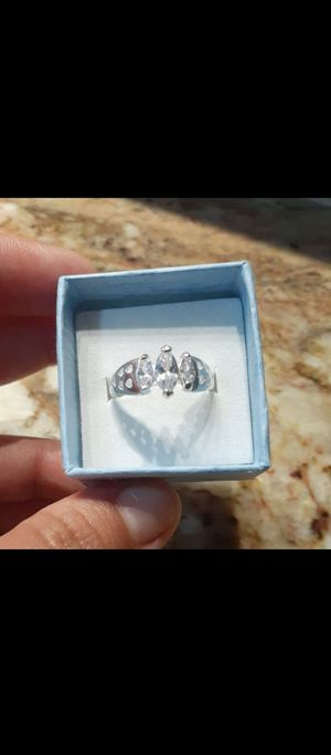 REAL SILVER 925. STAMPED RING DE PLATA SIZE 8 for Sale in Houston, TX