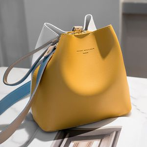 PU Leather Drawstring Pouch & Bucket Bag Crossbody Bag Contrast & Large Capacity with Zinc Alloy & Polyester Letter for Sale in Kissimmee, FL