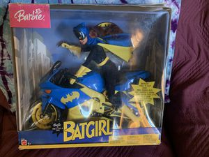 Barbie batgirl motorcycle collectible for Sale in Oceanside, CA