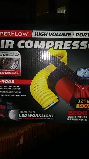 Portable air compressor for Sale in San Antonio, TX
