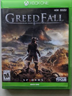 GreedFall Xbox ONE for Sale in Happy Valley,  OR