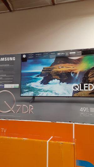 "Qled q7 49"" smart 4k hdr 240cmr for Sale in Montclair, CA"