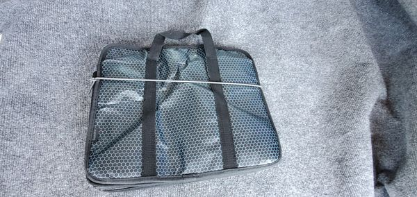 Car Auto Trunk Organizer With 3 Compartments Collapsible Folding Bag