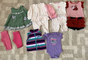Baby girl clothes - 0 to 3 months for Sale in Puyallup, WA