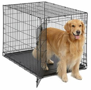 "NEW Dog Pet Kennel 42""_1 Door + Pan_Pickup 7 days 5am-9pm_$60 Firm for Sale in Glendale, CA"