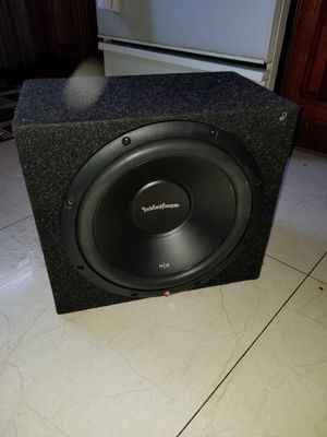 Subwoofer in good condition for Sale in Riverside, CA