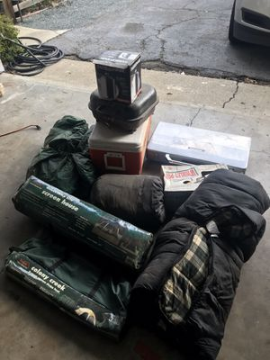 Camping gear for Sale in Danville, CA