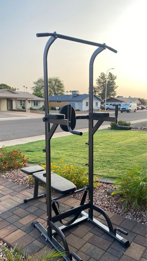 (New)Exercise tower with bench for Sale in Glendale, AZ