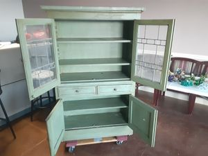 "Very old Antique China cabinet, Antique China cabinet (3'wide x 5' tall 14"" deep) only$20 for Sale in Dallas, TX"
