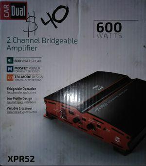 600 watts car amp for Sale in Las Vegas, NV