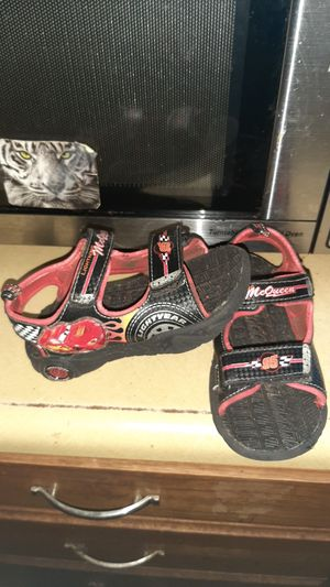Lightning McQueen sandals for Sale in Woonsocket, RI